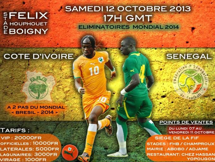 Côte d'Ivoire - Sénégal