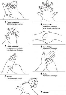 Bien se laver les mains pour lutter contre Ebola