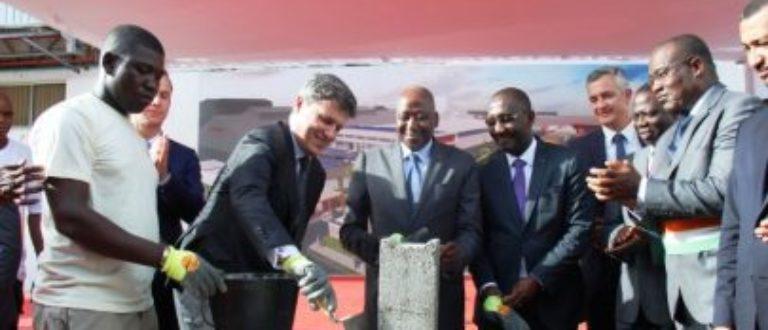 Article : Usine SACO : pose de la première de son extension à Abidjan